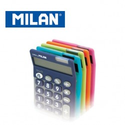 Milan Calculators - 10 digits with large keys - TOUCH DUO (5 colours available random selection when ordering online)