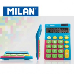 Milan Calculators - 10 digits with large keys - MIX