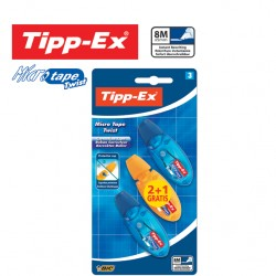 Tipp-Ex MicroTape Twist Correction Tape 5mm x 8m - 2+1 FREE