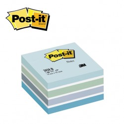 POST-IT NOTES 2028 - 400 sheets Assorted Pads - 76 X 76 mm