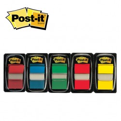 POST-IT INDEX FLAGS 680 - 50 flags per pack - 25,4 X 43,2 mm