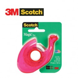3M SCOTCH 106 - Dispenser with Magic Tape Invisible 19mm x 7,62m