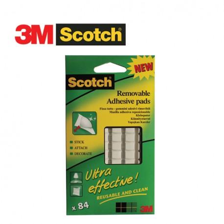 3M SCOTCH FIX01P - Removable Adhesive Pads