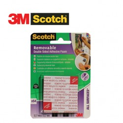 3M SCOTCH DOUBLE SIDED ASHESIVE FOAM PADS