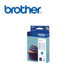 BROTHER LC123 CYAN INK CARTRIDGE
