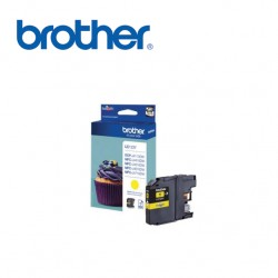 BROTHER LC123 YELLOW INK CARTRIDGE
