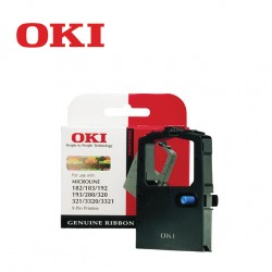 OKI 182 BLACK RIBBON CARTRIDGE