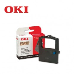 OKI 390 BLACK RIBBON CARTRIDGE