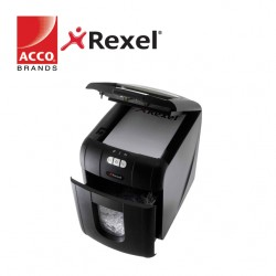 REXEL SHREDDER AUTO+ 100x  4x50MM CROSS CUT - 100 SHEETS