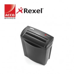 REXEL SHREDDER ALPHA  4x38MM CROSS CUT - 5 SHEETS