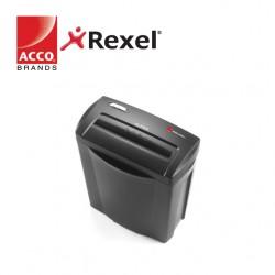 REXEL SHREDDER ALPHA  4x38MM CROSS CUT - 5 SHEETS