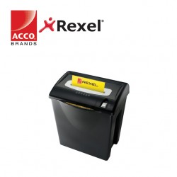 REXEL SHREDDER V125  4x34MM CROSS CUT - 8 SHEETS