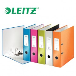 LEITZ WOW 1005 - Laminated Lever Arch Files - A4