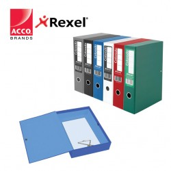 REXEL COLORADO LOCKSPRING BOX FILE - FOOLSCAP