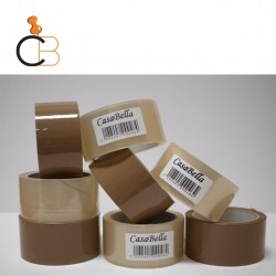 CB P.P. PACKAGING TAPES - BROWN OR CLEAR